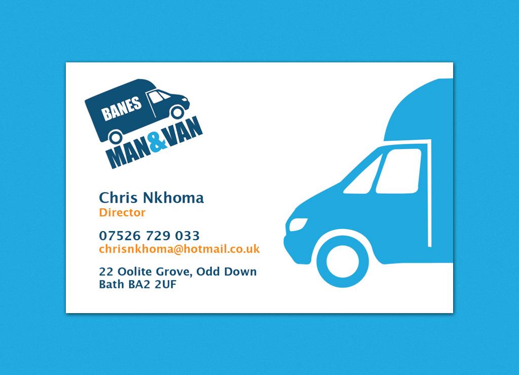 ManAndVan Business Cards