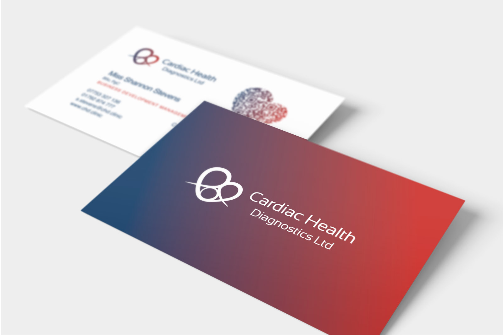 Cardiac Health Diagnostic Business Cards