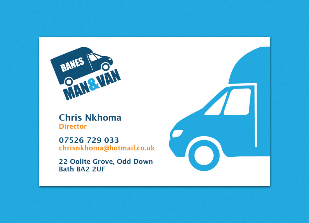 ManAndVan Business Cards