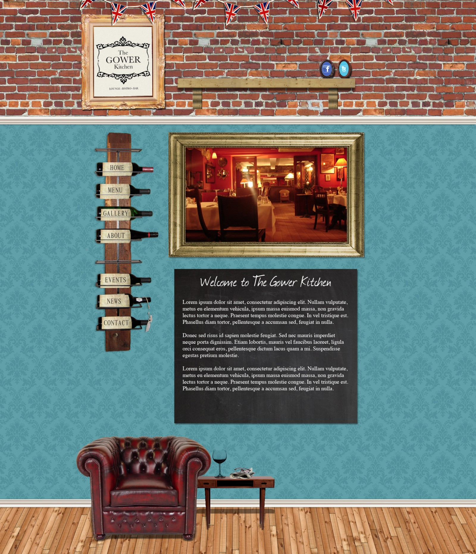 Gower Kitchen Website