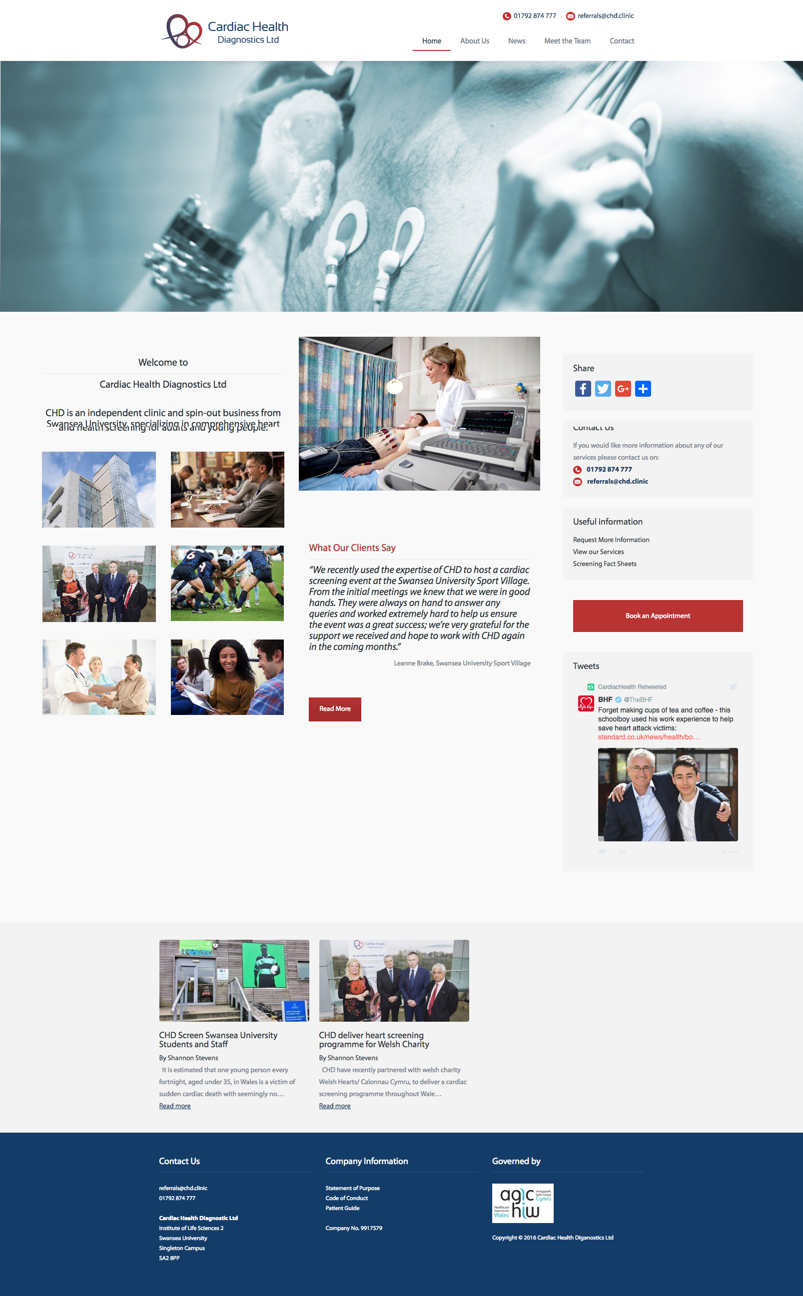 CHD Website
