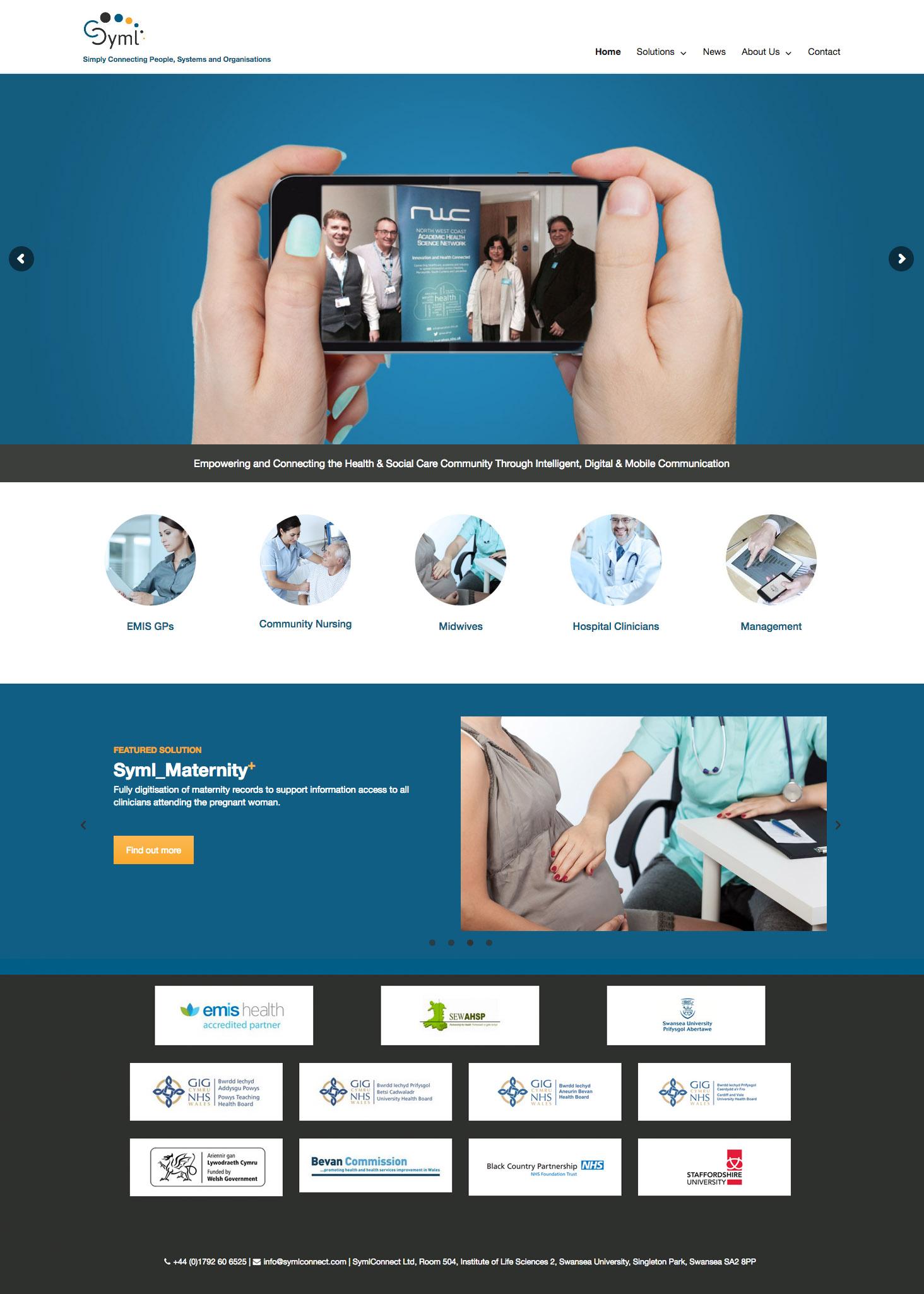 SymlConnect Website